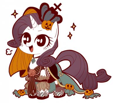 Part of 'Halloween Mane6' by Ume no Guruguru Sansei