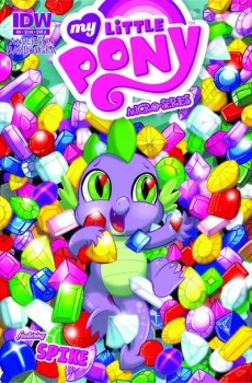 My Little Pony:Micro Series Issue #9 Cover A by Amy Mebberson