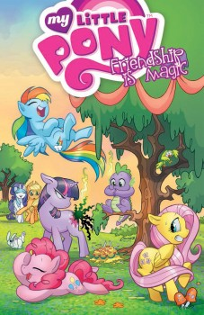 My Little Pony Friendship Is Magic Vol. 1 by Amanda Connor and Paul Mounts