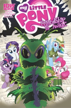 My Little Pony Friendship is Magic #16 Cover A by Amy Mebberson