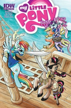 My Little Pony Issue #14 Cover by Brenda Hickey