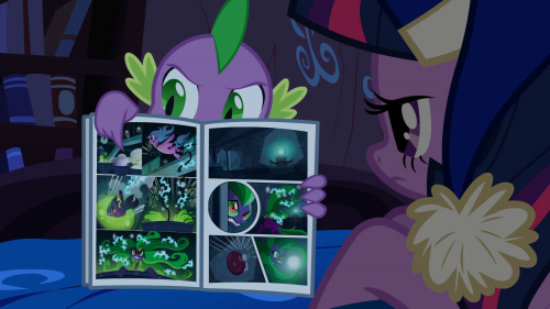 "Frame from episode ""Power Ponies"""